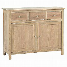 Vale Furnishers - Cirrus Small 3 Drawer Sideboard