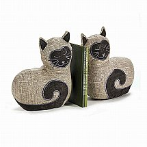 Dora Designs - Bookends - Si the Cat