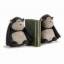 Dora Designs - Bookends - Tunks the Monkey