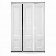 Vale Furnishers - Regatta 3 Door Short Wardrobe