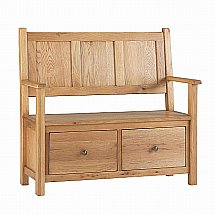 Vale Furnishers - Dorking Storage Bench