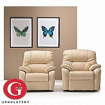 G Plan Upholstery - Mistral Reclining Armchair - Leather