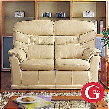 G Plan Upholstery - Malvern 2 Seat Double Manual Recliner - Leather