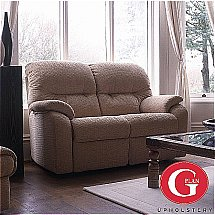 G Plan Upholstery - Mistral 2 Seat Double Power Recliner - Fabric