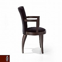 Aleal - Metropolis Luxor Round Back Armchair