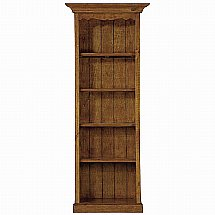 Vale Furnishers - Somerset Small 5 Shelf Bookcase