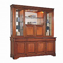 Vale Furnishers - Cork 4 Door Glazed Cocktail Unit