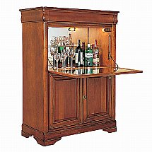 Vale Furnishers - Cork Cocktail Cabinet