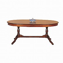 Vale Furnishers - Cork Medium Oval Extending Dining Table