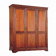Vale Furnishers - Cork Three Door Wardrobe