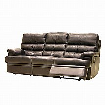 Vale Furnishers - Sofas - Milton Three Seater Recliner Sofa