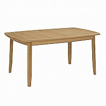 Nathan - Shades in Oak Extending Dining Table with Legs