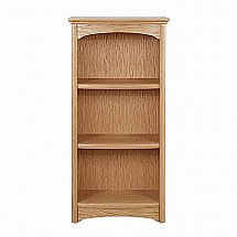Nathan - Shades in Oak Medium Single Bookcase
