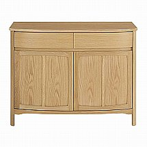 Nathan - Shades in Oak Two Door Sideboard