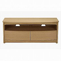 Nathan - Shades in Oak TV Unit with Drawers