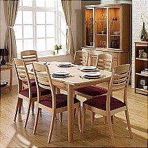 Nathan - Shades in Oak Living and Dining Range