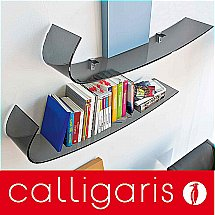 Calligaris - Blade Curved Glass Shelf
