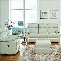 Vale Furnishers - Sofas - Jessica Leather Suite