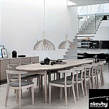 Skovby - SM78 Extending Dining Table