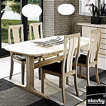 Skovby - SM74 Extending Dining Table