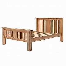 Vale Furnishers - Truro 5ft High Foot End Bedstead