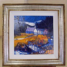 De Montfort Fine Art - John Lawrie Morrison Craft and bridge Argyle