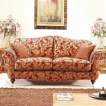 Vale Furnishers - Sofas - Beaulieu Three Seater Sofa