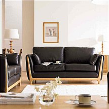 Ercol - Isola Medium Leather Sofa