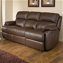Vale Furnishers - Sofas - Jake Leather Suite