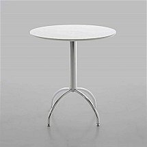 Vale Furnishers - Dining - Bistro White Dining Table