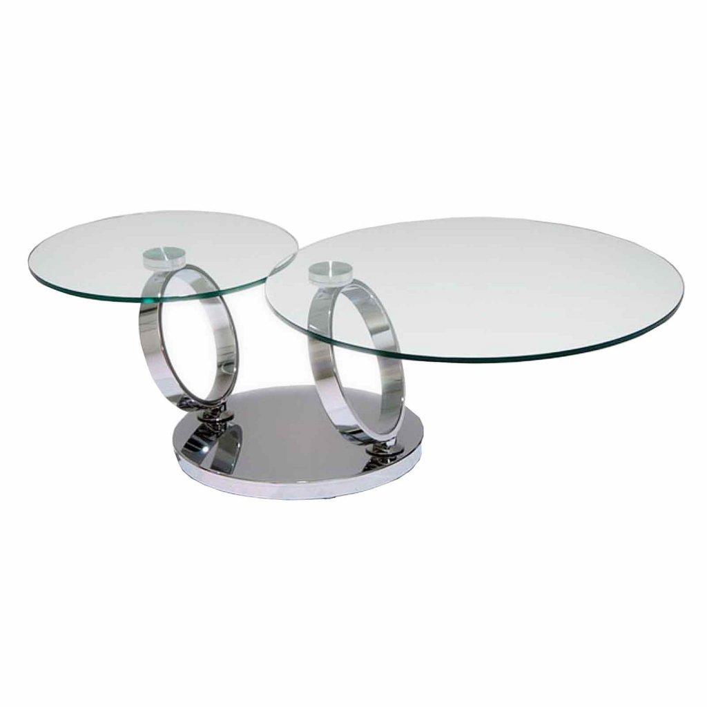 Larayia Swivel Glass Coffee Table: Glass Swivel Coffee Table Uk