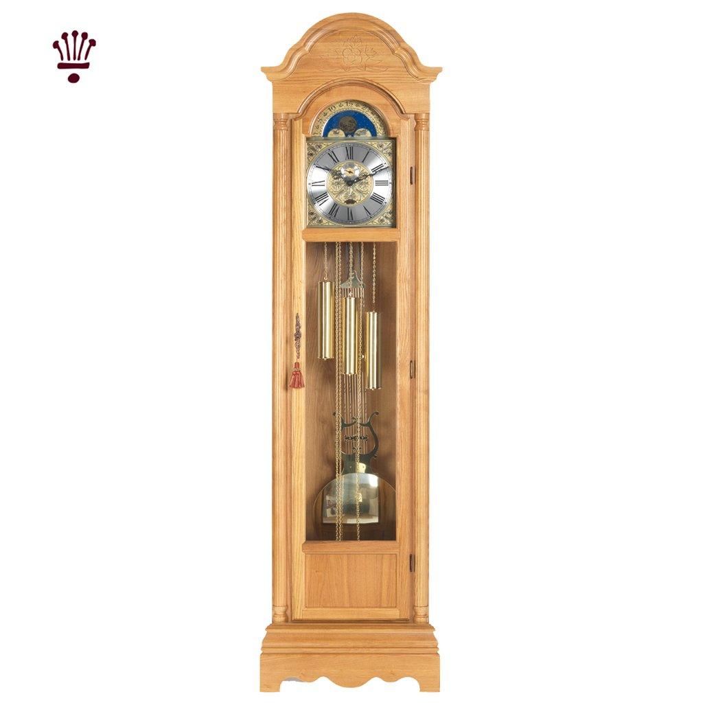 Billib Cavendish Grandfather Clock Light Oak
