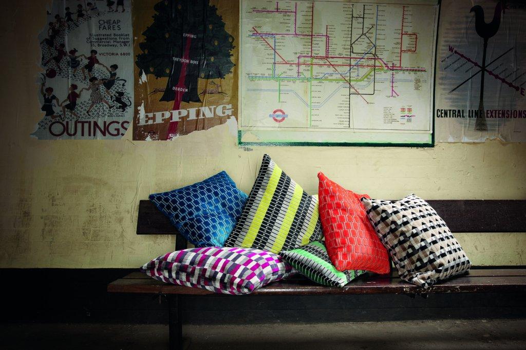 Romo Kirkby Design Bakerloo Cushion Vale Furnishers