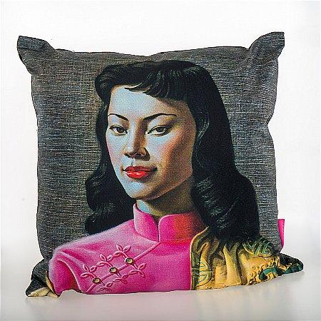 Tretchikoff Miss Wong Cushion Vale Furnishers